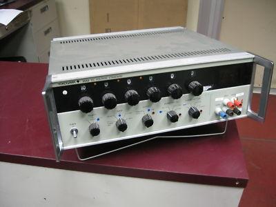 Yokogawa 2552 Quad Output System Dc Power Source