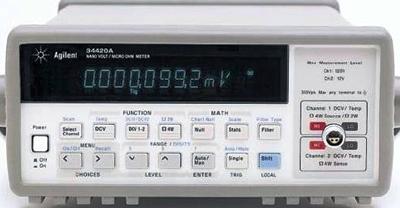 Agilent 34420A Nanovolt/Micro-Ohm Meter