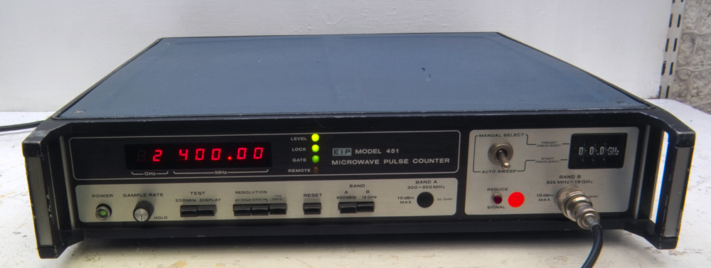 Eip Microwave 451 Microwave Pulse Counter