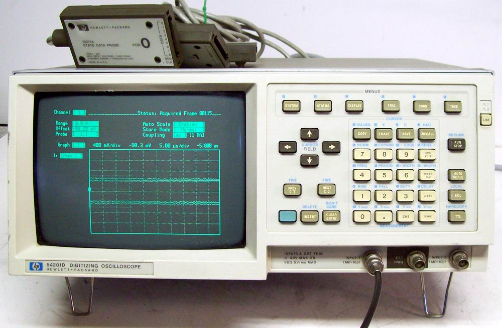 Agilent 54201D 300 Mhz Digitizing Oscilloscope