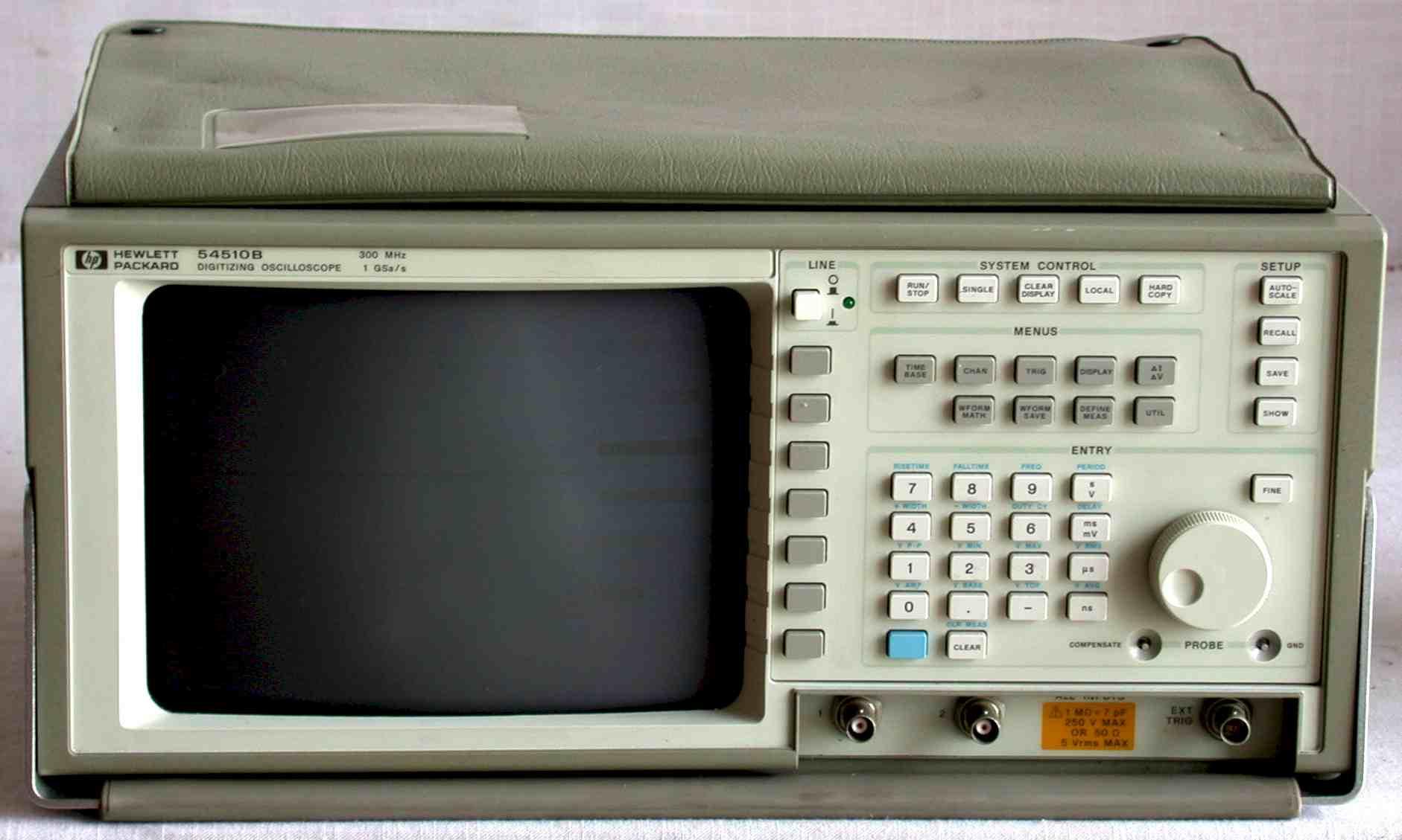 Agilent 54505B 300Mhz, 500 Ms/S 2-Ch General-Purpose Oscilloscope