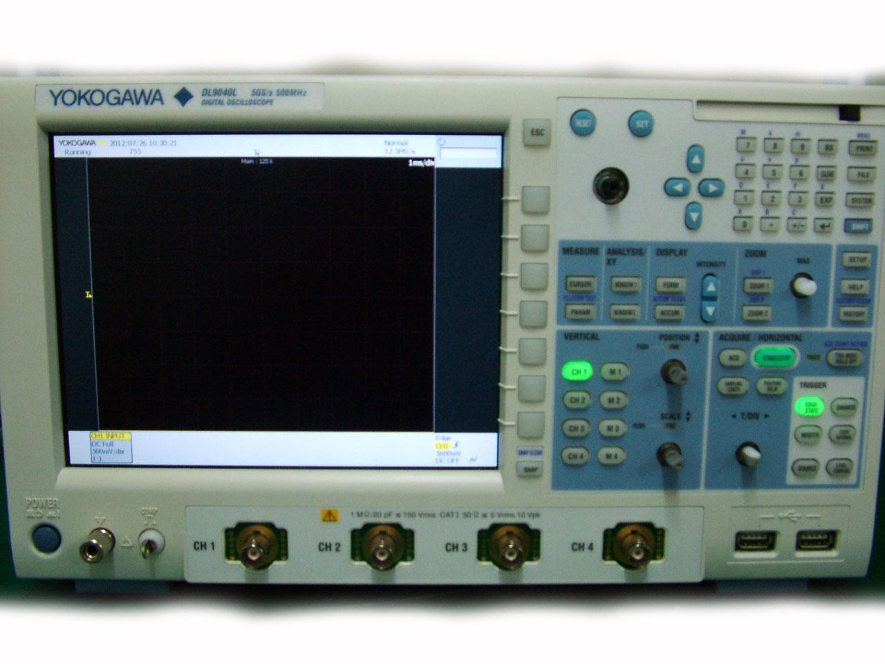 Yokogawa 700440 300Mhz,4Ch, Digital Oscilloscope