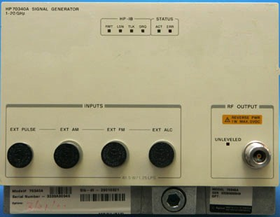 Agilent 70340A Synthesized Signal Generator