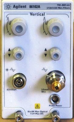 Agilent 86102A Electrical Plug-In Module