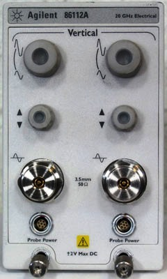 Agilent 86112A Electrical Plug-In Module