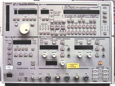 Advantest D3186 Pulse Pattern Generator