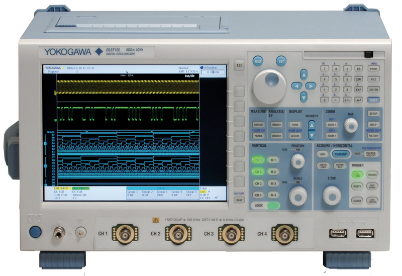 Yokogawa Dl9510L Mixed Signal Oscilloscope