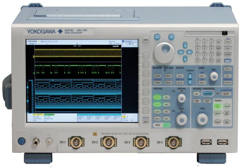 Yokogawa Dl9705L Mixed Signal Oscilloscope