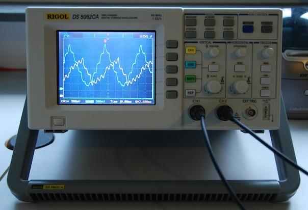 Rigol Ds5062Ca Ds5000 Series Digital Oscilloscope