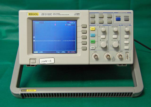 Rigol Ds5152C Ds5000 Series Digital Oscilloscope