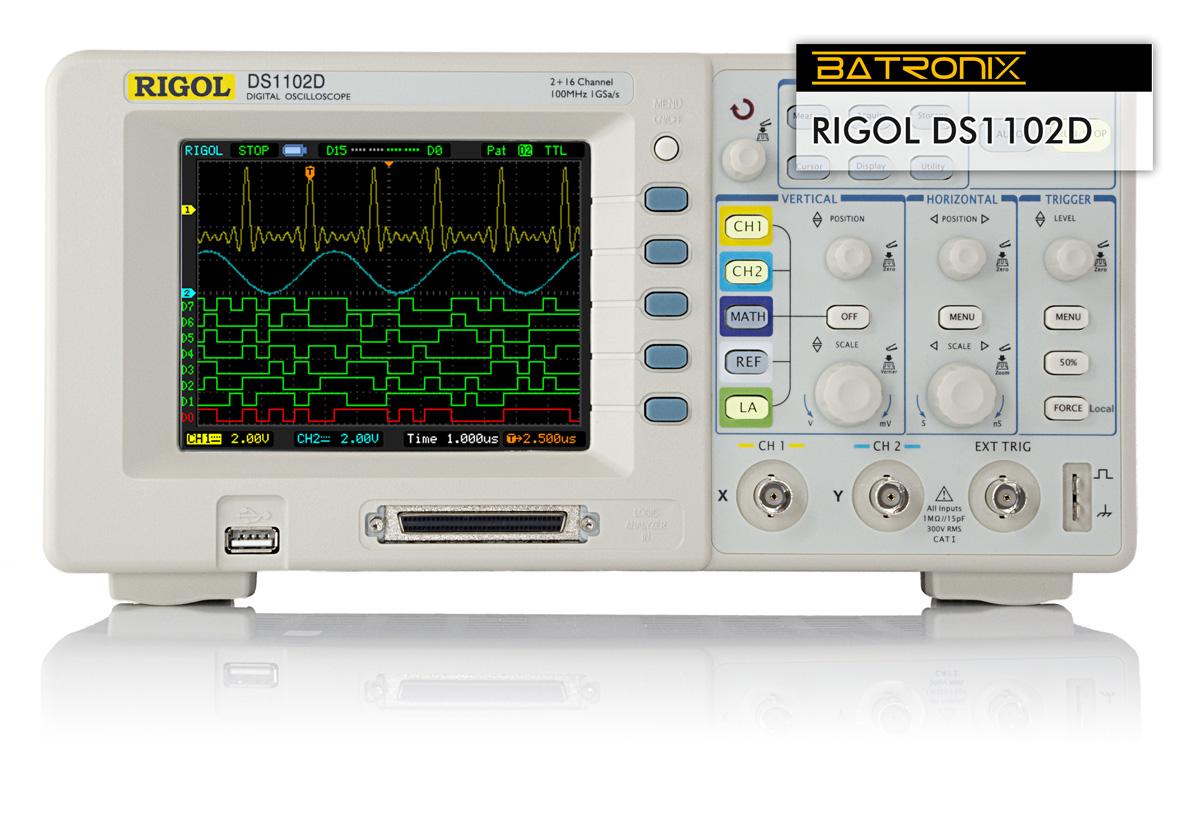 Rigol Ds5202Ma Ds5000 Series Digital Oscilloscope