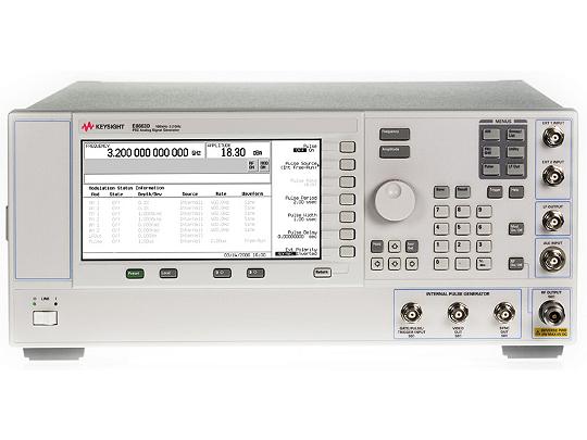 Keysight E8663D Psg Rf Analog Signal Generator, Up To 9 Ghz