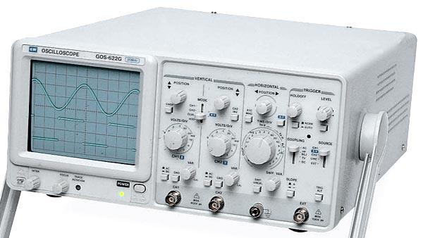 Gw Instek Gos-622G 20 Mhz Oscilloscope