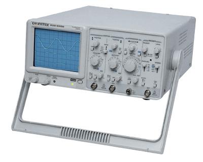 Gw Instek Gos-635G Gos-635G 35 Mhz, Analog Oscilloscope