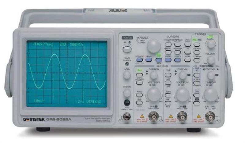 Gw Instek Grs-6032A Dc~30Mhz, 100Msa/S, 2Kw/Ch X 2 Real Time Storage Oscilloscop