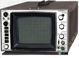 Agilent 181A Spectrum Analyzer Display