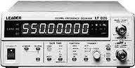 Leader Electronics Lf 826 550 Mhz Frequency Counter