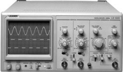 Leader Electronics Ls 8022 20Mhz 2 Ch Oscilloscope