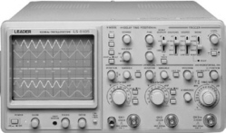 Leader Electronics Ls 8105 100Mhz, 3 Ch Analog Oscilloscope