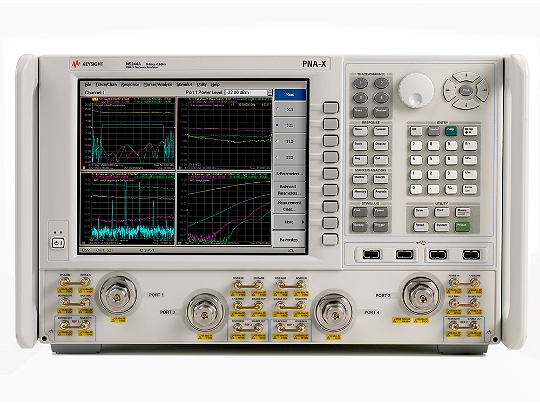 Keysight N5244A Microwave Network Analyzer 10 Mhz To 43.5 Ghz