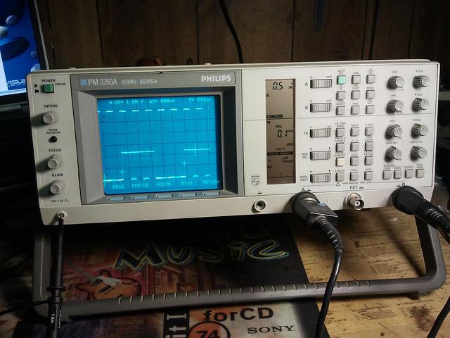 Phillips Pm3350A Digital Oscilloscope