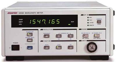 Advantest Q8326 Optical Wavelength Meter
