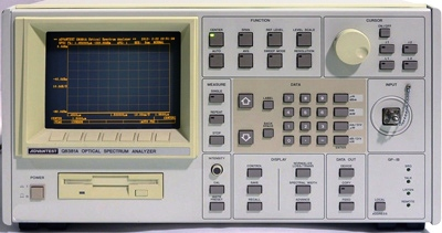 Advantest Q8381A Optical Spectrum Analyzer