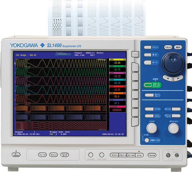 Yokogawa Sl1400 Mixed Signal Oscilloscope