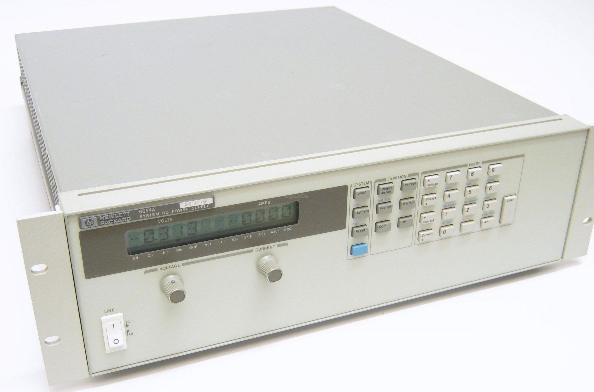 Keysight 6654A 500 Watt System Power Supply, 60V, 9A