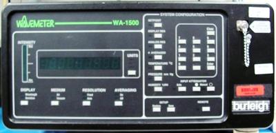 Burleigh Wa-1500 Laser Wavelength Meter