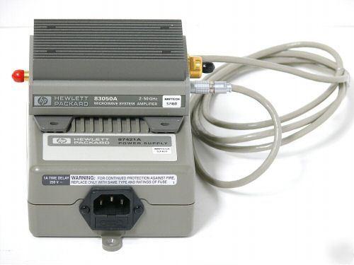Agilent 83050A Amplifier