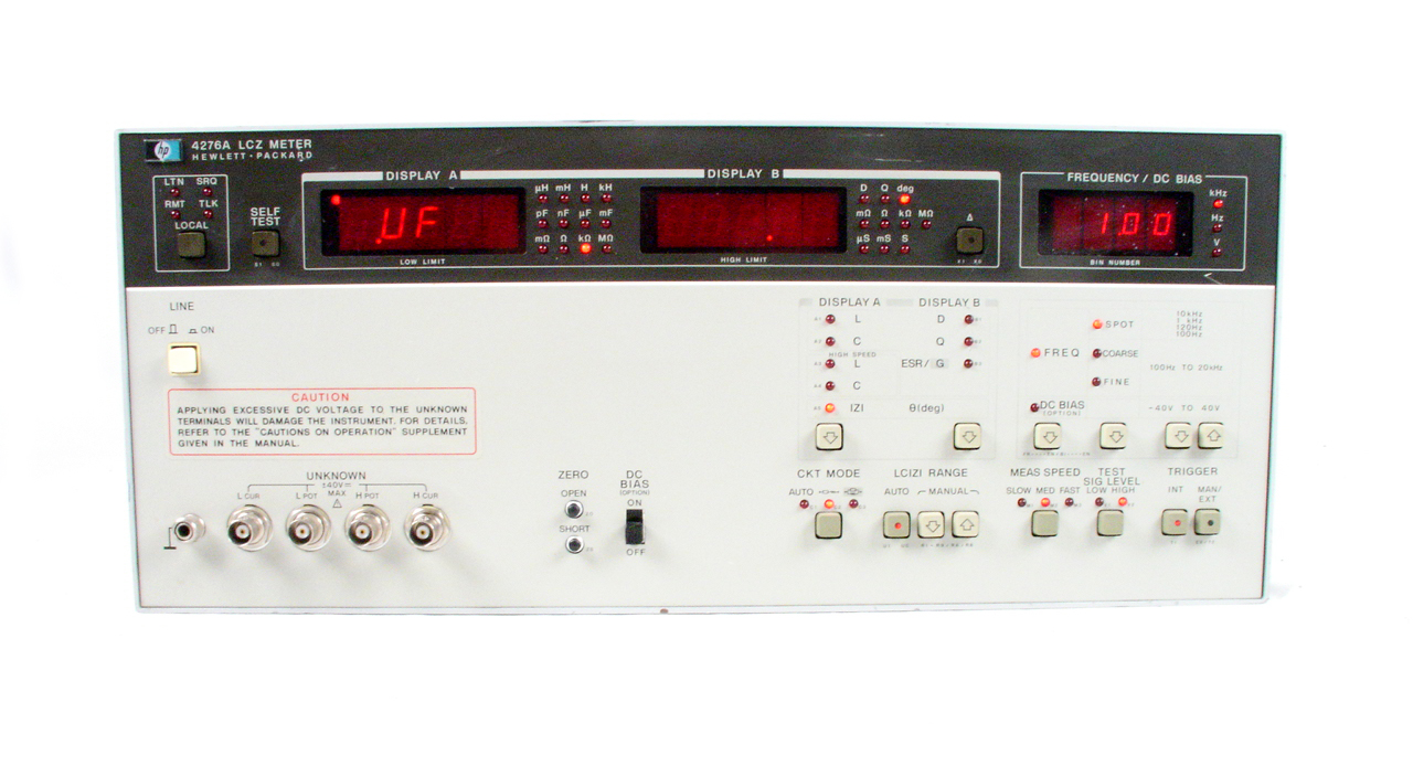 Agilent 4276A Used LCZ Meter