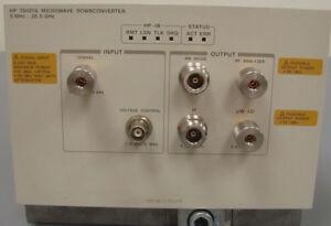 Agilent 70427A Microwave Downconverter