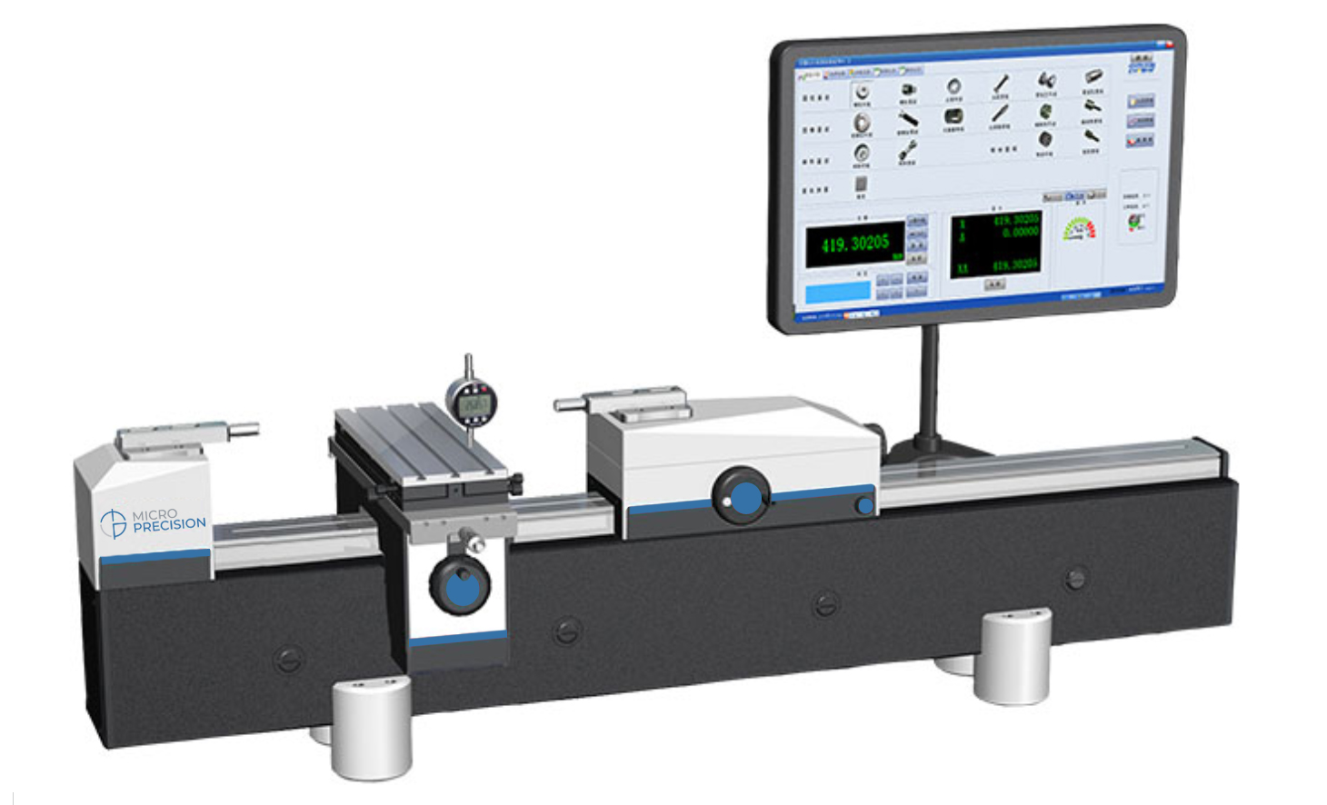 Micro Precision MP5100-1500A Dimensional Calibrators | Universal Length Measuring Machine