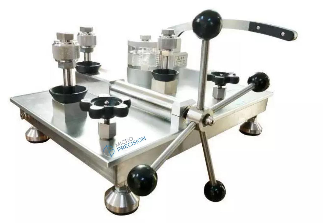 Micro Precision MP213K Oil Pressure Comparator Pump | Oil Pressure Calibration Comparator