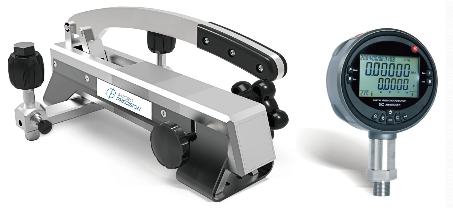 Micro Precision MP214E Pressure Comparator Pump | Air Pressure Calibration Comparator
