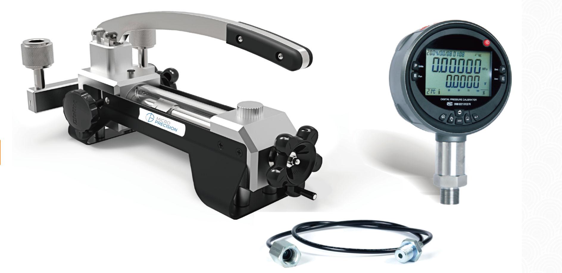 Micro Precision MP214L OIL Pressure Comparator Pump | Air Pressure Calibration Comparator