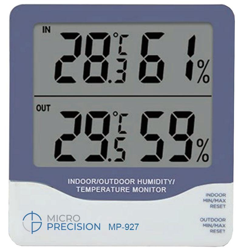 Micro Precision MP-927 Indoor | Outdoor Humidity | Temperature Monitor