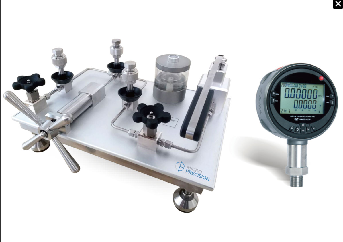 Micro Precision MP990Y Oil 600bar Pressure Comparator Pump |Water Pressure Calibration Pump
